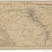 Occupation des territoires militaires du Tchad : itinéraires de E. Gentil, commissaire du gouvernement au Chari, et de ses collaborateurs